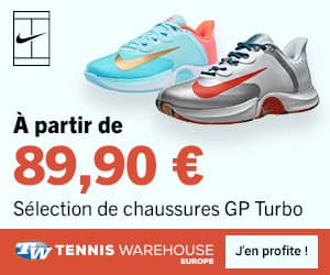 Promo chaussures de tennis Nike GP Turbo