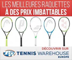 Raquettes de tennis en promotion