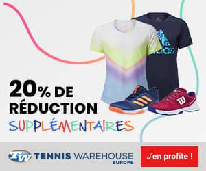 Soldes tennis junior